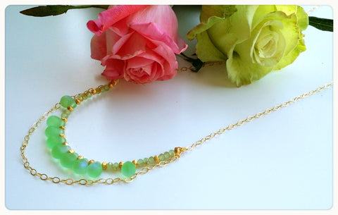 THE PERIDOT DREAM NECKLACE