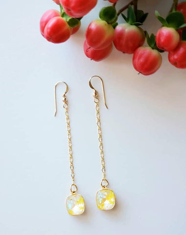 SUNSHINE DeLite CHAIN EARRINGS