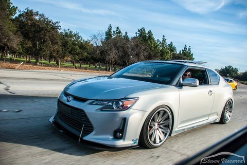 Custom APR Front Wind Splitter: Scion tC 2014+