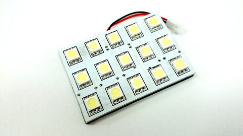 BBM 15-SMD 5050 LED Panel (White / Amber / Red / Blue / Green) - T10 / 31mm / 36mm / 39mm / 42mm / BA9S (FREE SHIPPING)
