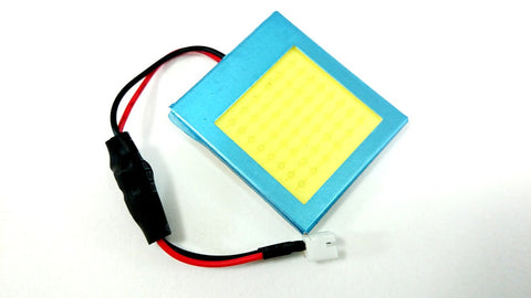 BBM 2W COB LED Panel (White) - T10 / 31mm / 36mm / 39mm / 42mm / BA9S (FREE SHIPPING)