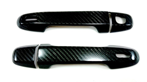 BBM Door Handle Covers (Carbon Fiber - Dry) - 2013+ Scion FR-S / Subaru BRZ / Toyota GT86