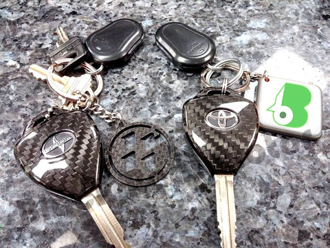 BBM Remove Key Covers (Carbon Fiber - Dry) - 2013+ Scion FR-S / Toyota GT86 / Other Toyota & Scion (FREE SHIPPING)