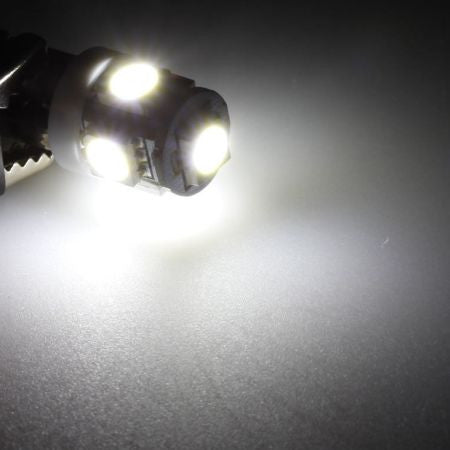 BBM 5-SMD Wedge 5050 LED Light Bulbs (White / Amber / Red / Blue / Green / Purple) - T10 158 168 175 194 2823 2825 W5W 912 921 (FREE SHIPPING)