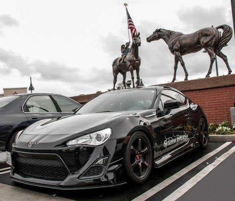 Black Beat Motor Type 1 Body Kit 6 Pcs Scion Frs Toyota Gt86