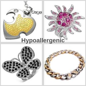 Hypoallergenic Stainless Steel Collection