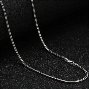 Fine Foxtail Link Sterling Silver Chain Necklace 20-24 inches
