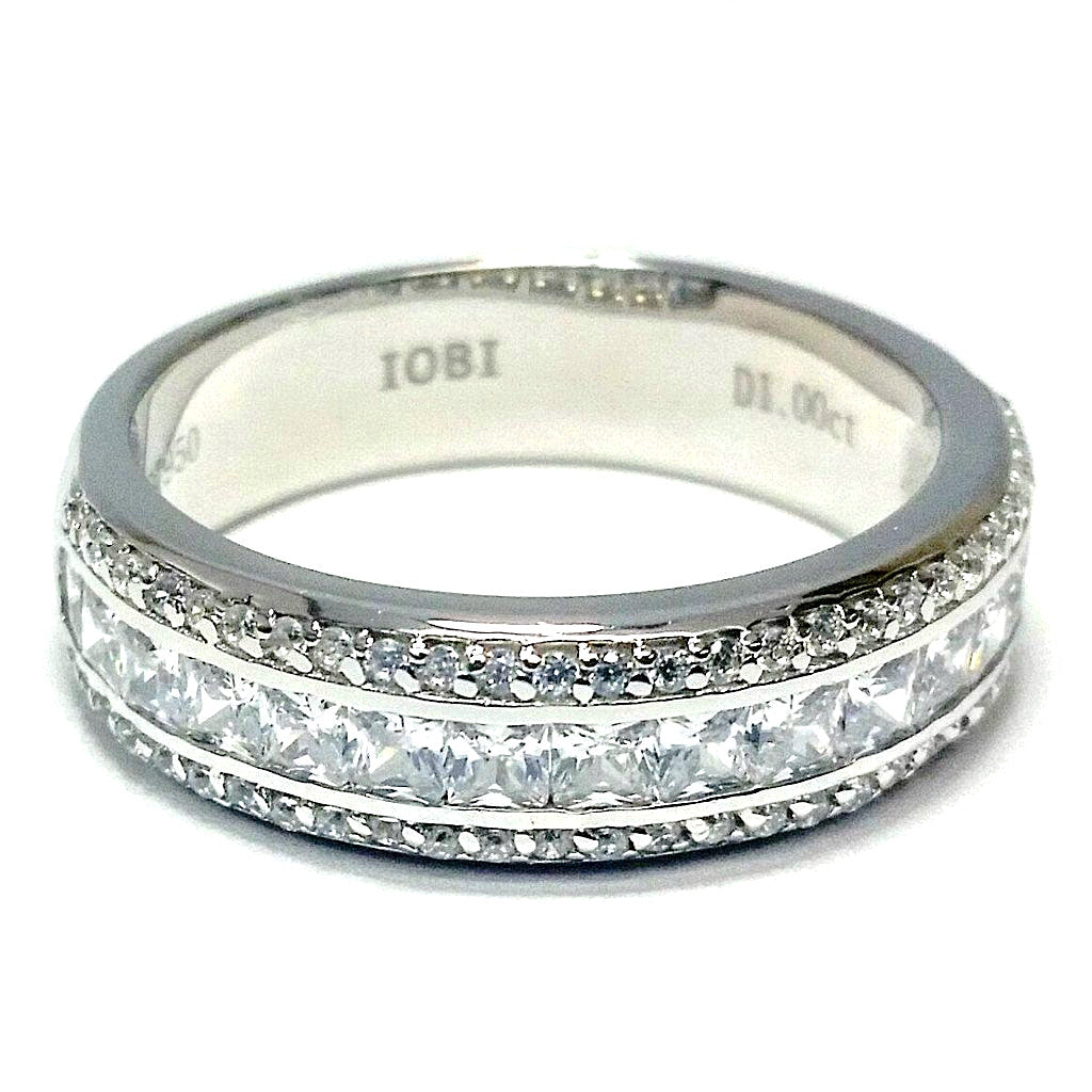 ring silver iobi products oval ophelia cut diamond cultured feshionn