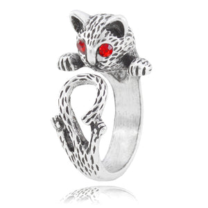 Alley Cat Adjustable Animal Wrap Ring