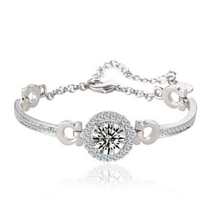 Angel's Halo 4.6Ct CZ Bracelet