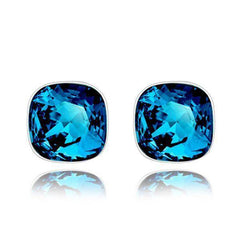 ON SALE - Pop of Color Austrian Crystal Stud Earrings
