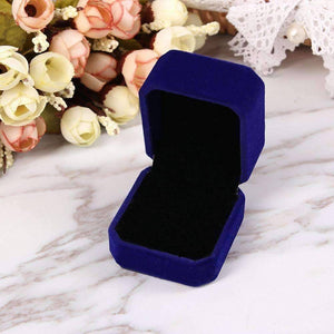 Luxurious Velvet Ring Box in Five Colors