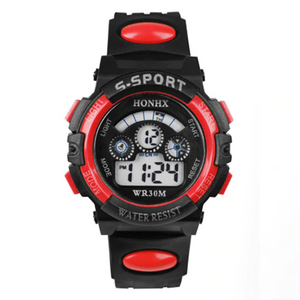 ON SALE - Boys Digital Sport Watch in Blue or Red