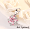 Image of ON SALE - Cherry Blossoms Cubic Zirconia Earrings
