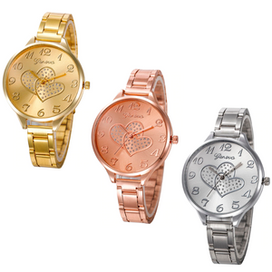 ON SALE - Loving Every Minute Heart Geneva Watch