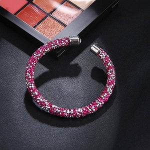ON SALE - Crystal-ized Adjustable Bangle Bracelet
