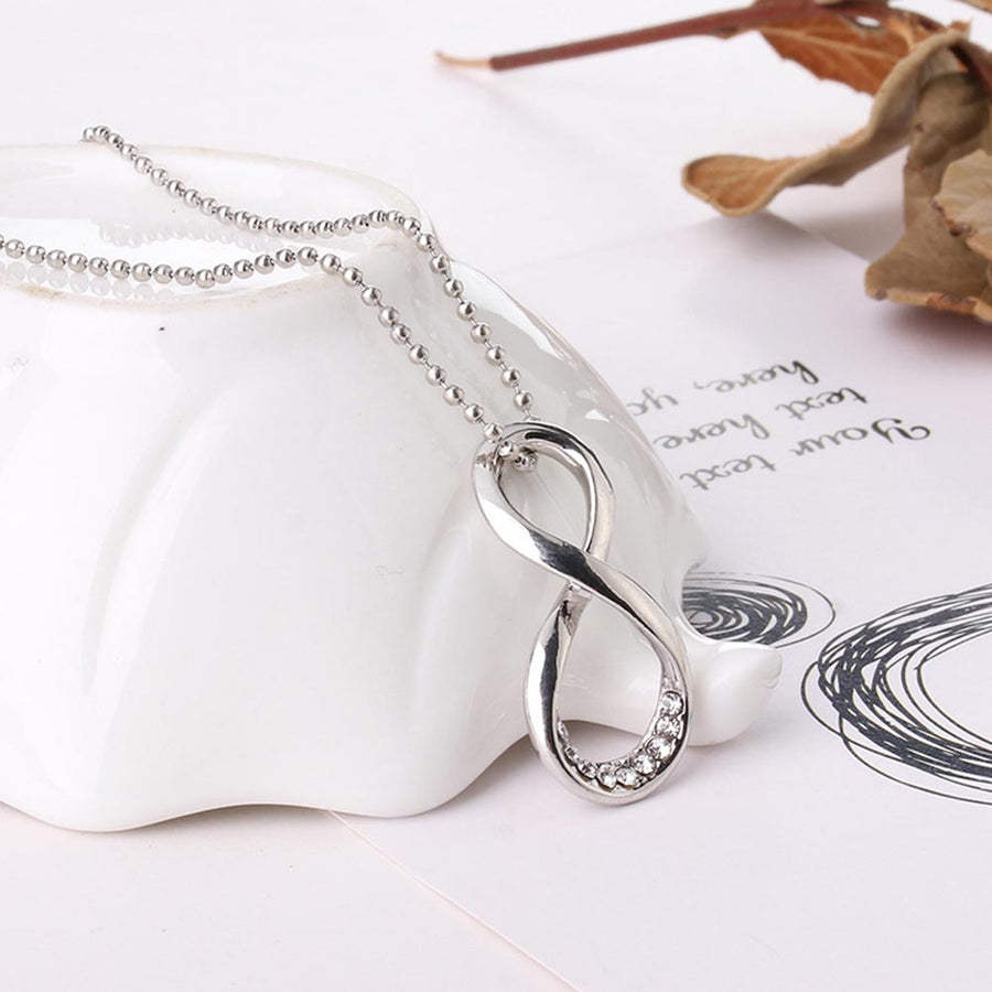 Shine Bright Infinity Symbol Necklace For Woman