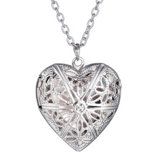 Expressions of Love Heart Locket Necklace