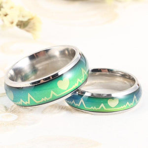 Heartbeat Color Changing Mood Ring