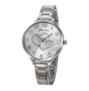 CLEARANCE - Loving Every Minute Heart Geneva Watch
