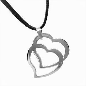 feshionn-iobi-double-hearts-stainless-steel-pendant-necklace
