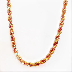 feshionn-iobi-20-inch-18k-rose-gold-plated-stainless-steel-rope-chain
