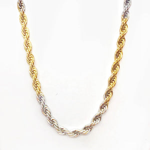 feshionn-iobi-18-inch-alternating-two-tone-stainless-steel-rope-chain