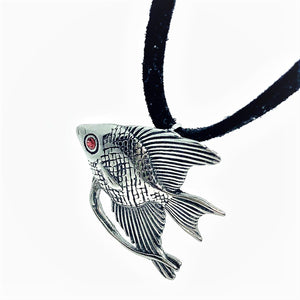 feshionn-iobi-tropical-angel-fish-stainless-steel-pendant-necklace