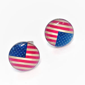 american-flag-enamel-button-stud-earrings