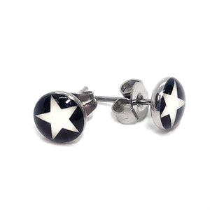 White Star Stainless Steel Studs