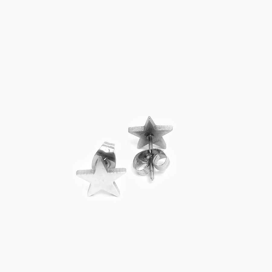 Star Bright Stainless Steel Studs