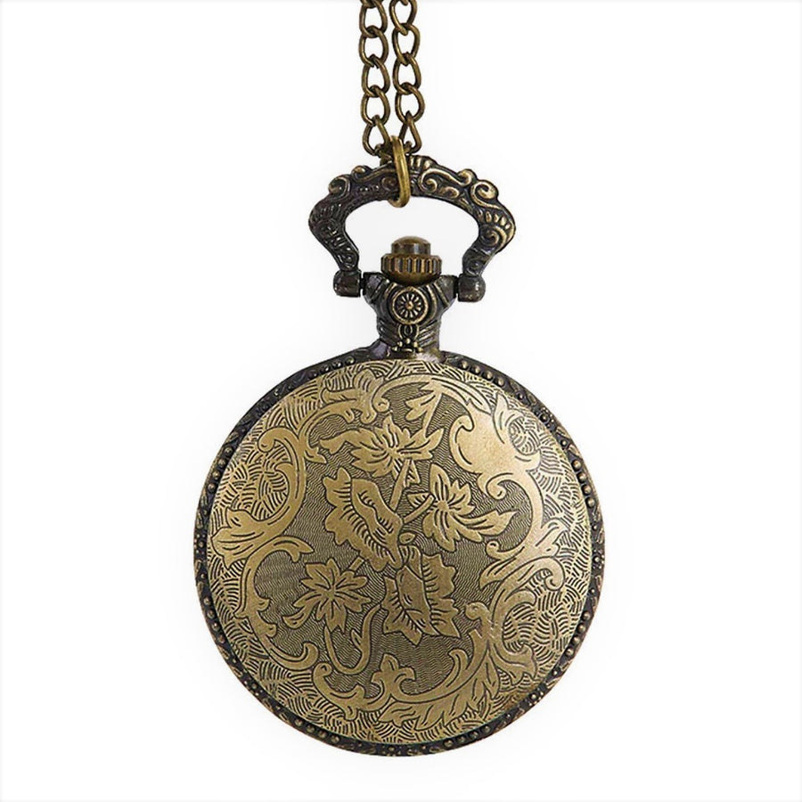 Vintage Bronze Australian Map Pocket Watch