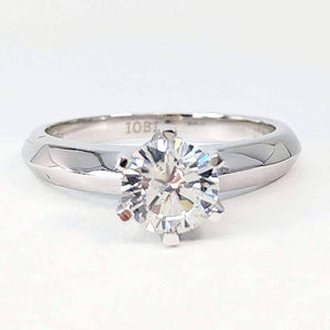 Juliette 1CT Round Cut IOBI Simulated Diamond Solitaire Ring