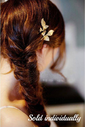 Falling Leaves Hair Clip Barrette