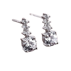Little Dipper IOBI Crystals Stud Earrings For Woman