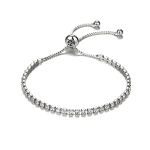 Little Luxuries CZ Lariat Tennis Bracelet