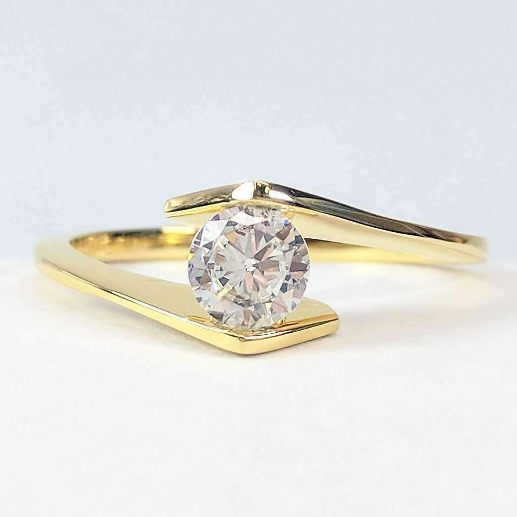 cultured rings allura yellow ring diamond gold products twisted iobi solid feshionn halo