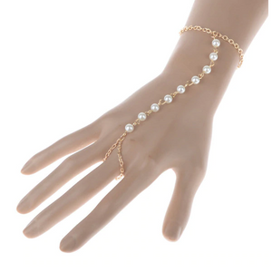 ON SALE - Pearl Beads Body Jewelry Bracelet
