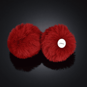 Ear Puffs Fuzzy Pom-Pom Stud Earrings