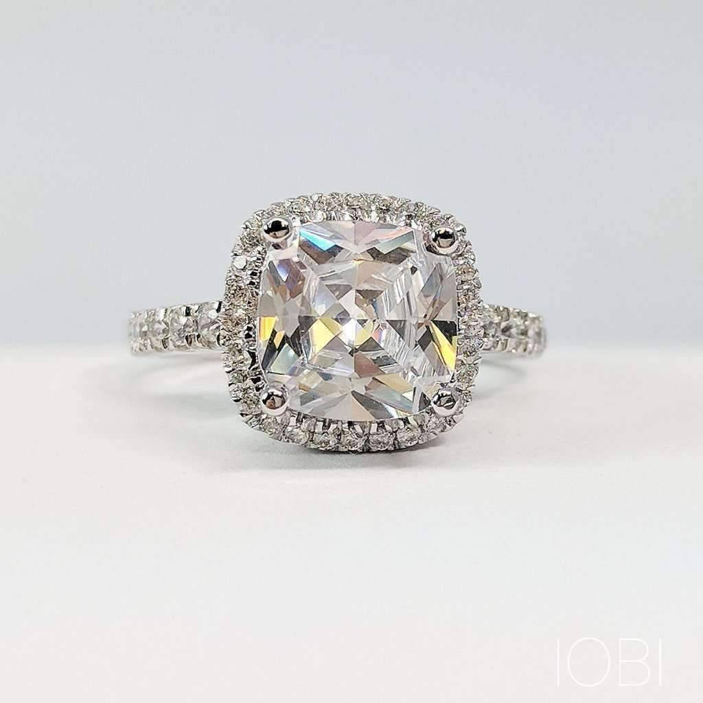 dora ring ora diamond cultured petite french pave iobi pav products silver d crown alexandra oval