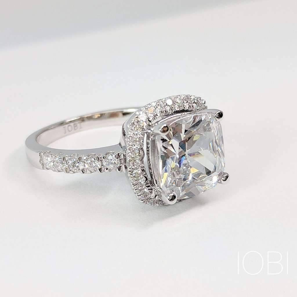 diamond set cut products iobi feshionn leste c cultured celeste round ring halo