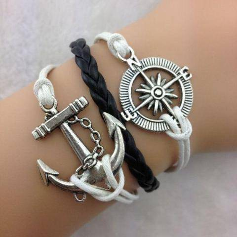Sea Farer Handmade Leather Friendship Bracelet