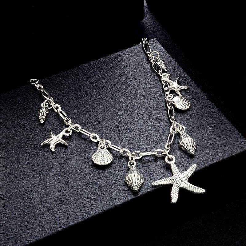 Sea Treasures Silver Shell Bracelet