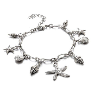 ON SALE - Sea Treasures Silver Shell Bracelet