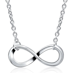 Simply Symbolic Infinity Symbol Necklace