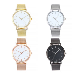 ON SALE - Sleek Metal Mesh Band Watch
