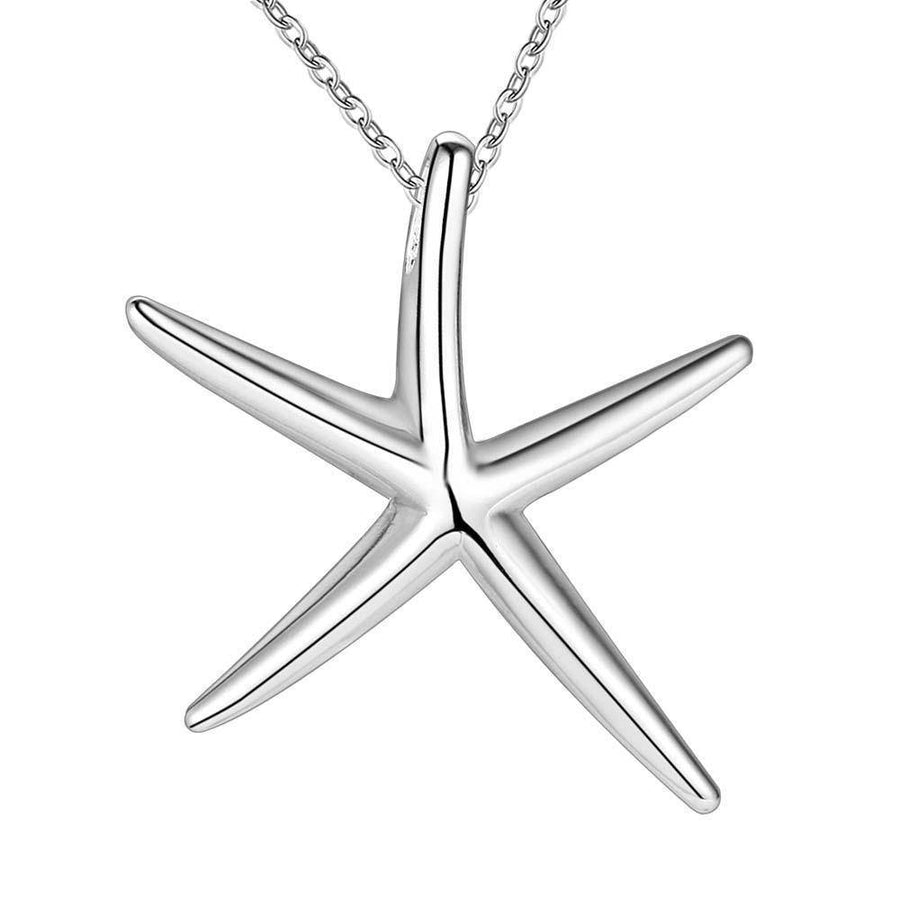 Starfish Silver Matching Set