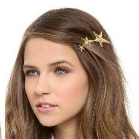 Night Skies Stars Hair Clip Barrette