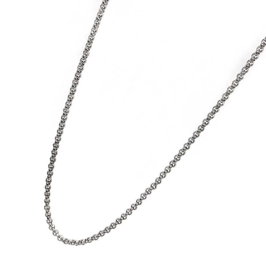 18 inch Stainless Steel Link Style Necklace Chain