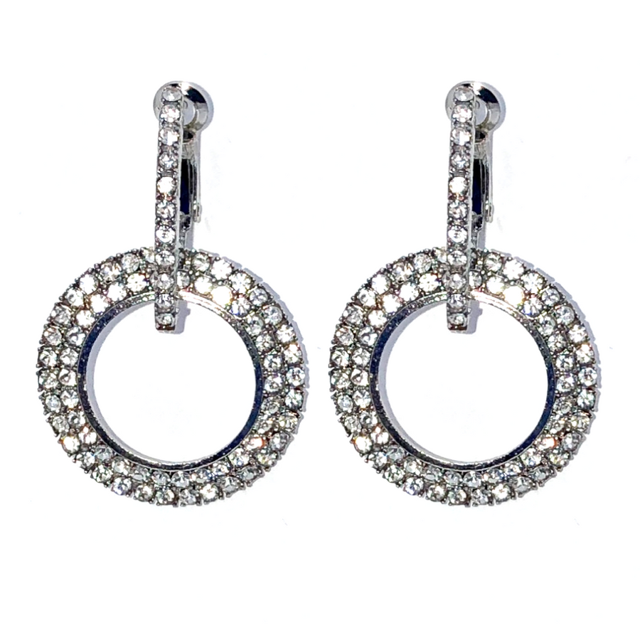 Supreme Shine Double Circle Earrings